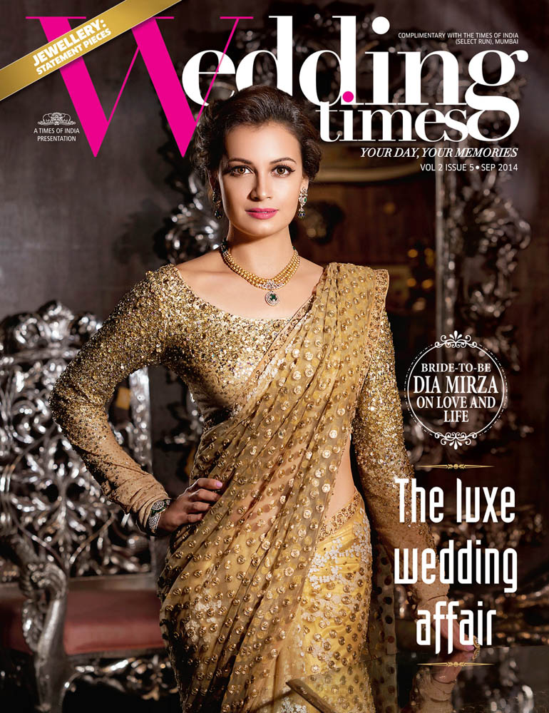 VB_Sept2014_DiaMirza_WeddingTimes_001