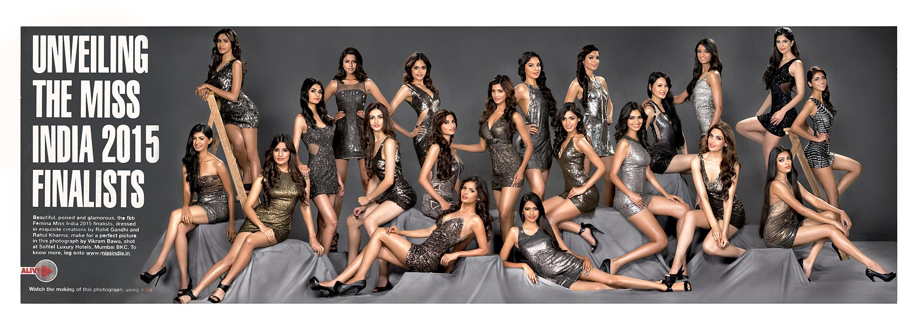 Femina Miss India Contestants