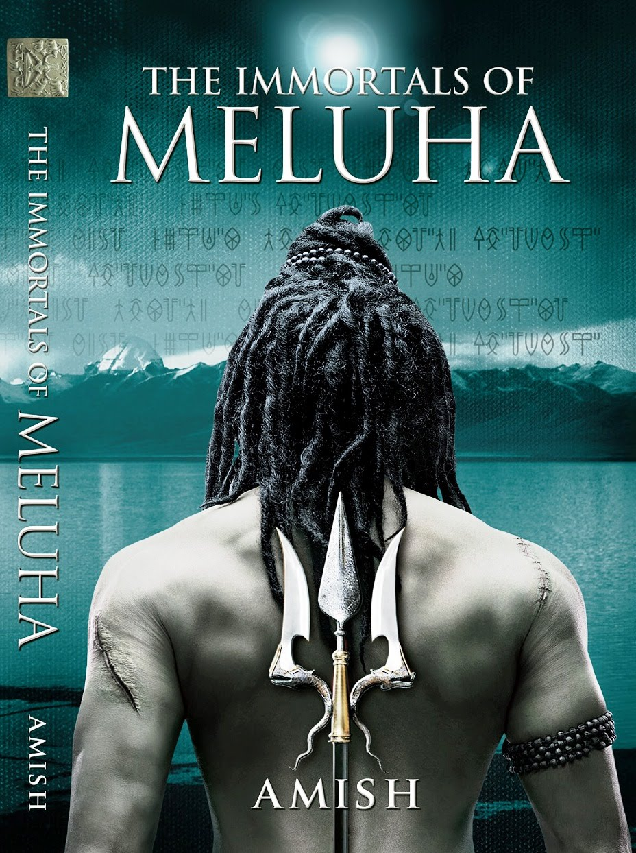 the immortals of mehlua novel by Amish cover photoshoot by vikram bawa, Best Indian photographer shooting magazine cover